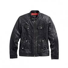harley davidson mens buckle collar leather riding jacket