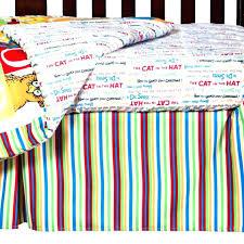 dr seuss crib bedding set cat baby sets
