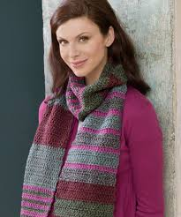 Striped Scarf Knitting Pattern Custom Inspiration Design