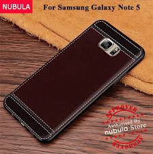 product details of nubula for samsung galaxy note 5 n9200 back case with finger metal ring soft leather case for samsung galaxy note 5 n9200 intl