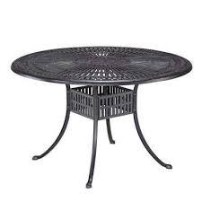 round patio dining table