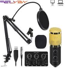 ₩FELYBY <b>bm 800</b> Upgraded bm 900 Mikrofon Set <b>Professional</b> ...