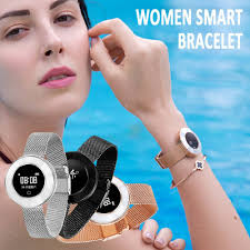 Microwear <b>X6</b> Women Smart <b>Bracelet</b> IP68 <b>Blood Pressure</b> Oxygen ...