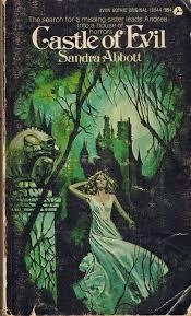 castle of evil gothic romance novel book cover