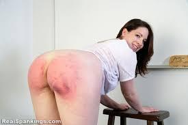 Bad girl paddle spanking porn