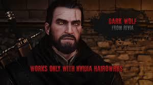 The Witcher 3 Wild Hunt Dark Wolf From Rivia темный волк из