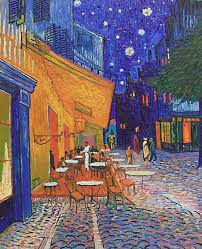 van gogh cafe terrace at night repro