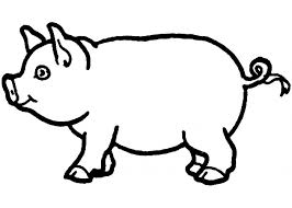 Small Picture Elegant Pig Template Printable 70 On Coloring for Kids with Pig