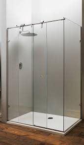 pictures of replace sliding shower door with frameless