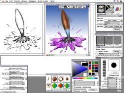 Краткий обзор программ компьютерной графики и анимации Среди пакетов предназначенных для создания статичной компьютерной двумерной живописи на macintosh и в среде windows профессиональный интерес представляют