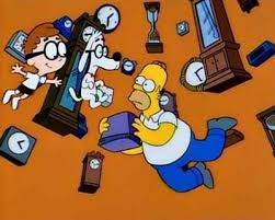 Comic Mint  Animation Art  THE SIMPSONS Simpson Treehouse Of Horror V