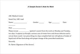 28 Images Of Work Excuse Note Template Leseriail Com