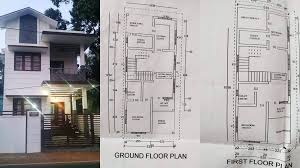 1400 sq ft 3bhk two floor house and