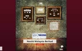 Nestle Malaysia Berhad By Nadiah Hazirah On Prezi