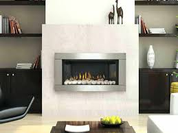 stone gas fireplace wall with white stones images stone gas fireplace
