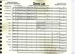 Donna Lee Chart Donna Lee By Composer Performer Holman Bill Jazz