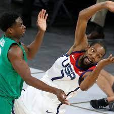 USA basketball team ...