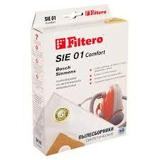 Мешок-<b>пылесборник</b> SIE 01 Comfort (4шт) не боятся острых ...