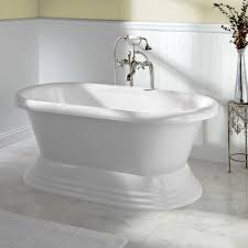 ... Bathtubs Idea, Oval Freestanding Tub Free Standing Tub Shower Stylish Stand  Alone Soaker Tub Freestanding ...
