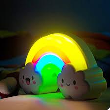 Aliexpress.com : Buy Rainbow LED Night Light Lamp for Baby Kids & Children  Nursery NightLight Sound Sensor Wall lamps Decoration home decor lights  from ...