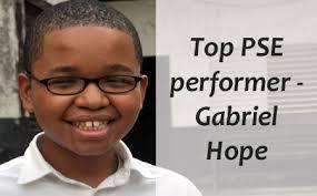 BYI's Gabriel Hope, 13, tops PSE with 96.5% | Amandala Newspaper