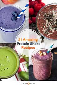 21 quick and easy protein shake recipes