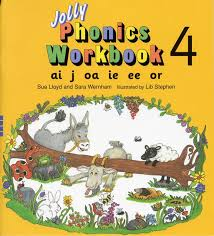 Phonics worksheets and online activities. Jolly Phonics Workbook 4 Ai J Oa Ie Ee Or