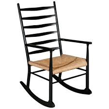 rocking chair in manner of gio ponti for