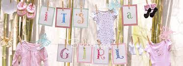 DIY a Spring Baby Shower Welcome Sign Us..