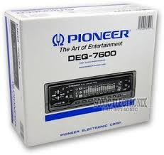 pioneer deq deq band digital equalizer dsp product pioneer deq 7600