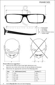 Sunglasses Frame Size Chart Oliver Peoples Eyewear Denison Size Chart Eyewear