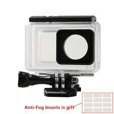 Online Shop <b>Action Camera Waterproof Case</b> for Xiaomi Yi 4k w ...