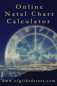 Of Gilded Stars Free Online Natal Chart Calculator