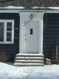 front door trimwindow trim  All Our Eggs