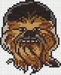 Star Wars Perler Bead Patterns Cool Star Wars Chewbacca Perler Bead Pattern Bead Sprites Characters
