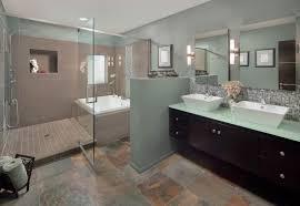 Dark Bathroom Cabinets Bathroom Brown Bathroom Vanities Gray Marbled Floor White