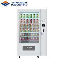 Get Rid Of Vending Machines Simple China Winnsen Salad Jar Vending Machine With Coolant Function