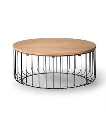 fenton round coffee table