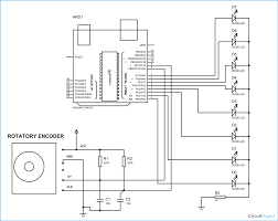 Arduino rotary encoder circuit diagram