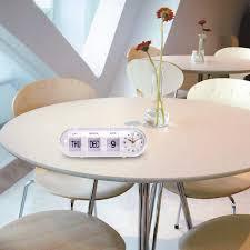 retro flip digital quartz home desk alarm clock
