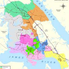 map gallery  james city county va