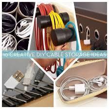 DIY Cable Organizer Ideas