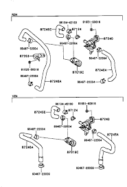 toyota 3 4l engine diagram wiring diagrams best heater hose routing 3 4l 4runner w rear heater asap please 95 toyota 4runner engine diagram toyota 3 4l engine diagram