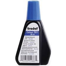 <b>Краска штемпельная Trodat 7011</b>, 28 мл, синяя купить Краска ...