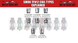 Smok Coil Chart Coil Types For Smok Tfv12 Prince Tank Explained