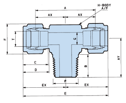 Npt Dimensions Chart Npt Tee Dimensions Pdf Download Available Waverley Brownall
