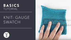 Knitting Stitch Gauge Chart How To Measure Knit Gauge Yarnspirations