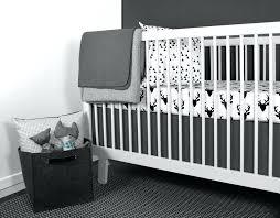 deer nursery bedding lime modern crib bedding modern black white nursery bedding woodland boy hunting nursery