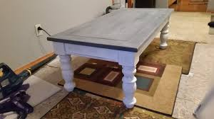thats the beauty of a chalk paint project i think its pretty hard to screw it up and thats something we can all appreciate amiright chalk paint coffee table