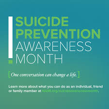 suicide prevention awareness month events mental health suicide prevention awareness month